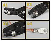 Наконечник кабельный медно луженый SC 10-12, фото 3