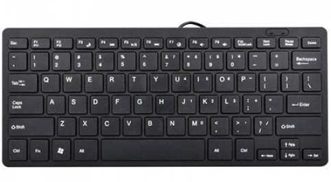 USB мини клавиатура UKC K1000 черная