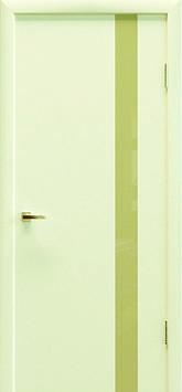 Міжкімнатні двері ART 04 (молочне)