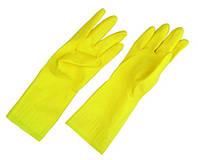 Перчатки хозяйственные резиновые, фото 1