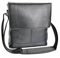 Мужская кожаная сумка  98089 Black. Мужские сумки оптом и в розницу недорого в Украине., фото 1