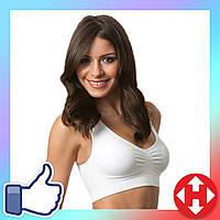 Бюстгальтер спортивный A bra (А Бра) Aire Bra, белый - M, нижнее белье, с доставкой по Киеву и Украине