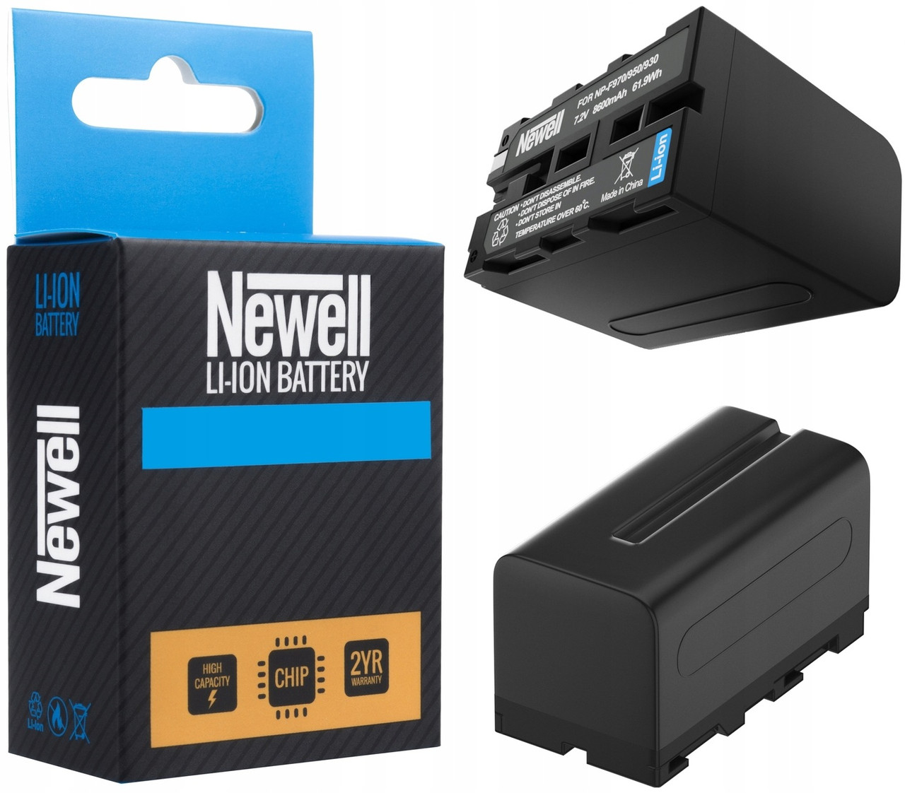 Акумулятор Newell li-ion battery for NP-F970 6600 mAh (BDS2652) ExtraDigital для фото відео