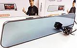 Дзеркало відеореєстратор DVR A29 з двома камерами touchscreen HD1080, фото 2