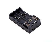 Зарядное устройство универсальное Liitokala lii-202 , 2 канала,LCD дисплей, поддерживает Li-ion, Ni-MH и Ni-Cd