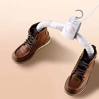 Электросушилка для одежды и обуви умная вешалка сушилка органайзер с подсветкой электрическая