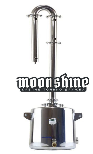 "Дистиллятор Moonshine Medium фланец 1,5"" c баком 20 литров"