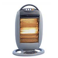Обогреватель электрический инфракрасный галогенный Heater WX 7744 Wimpex напольный экономный для дома квартиры