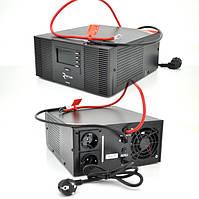 ИБП с правильной синусоидой RITAR RTSWrl-1000 (600Вт), 12В с переключнием тока заряда 10A и 20 A