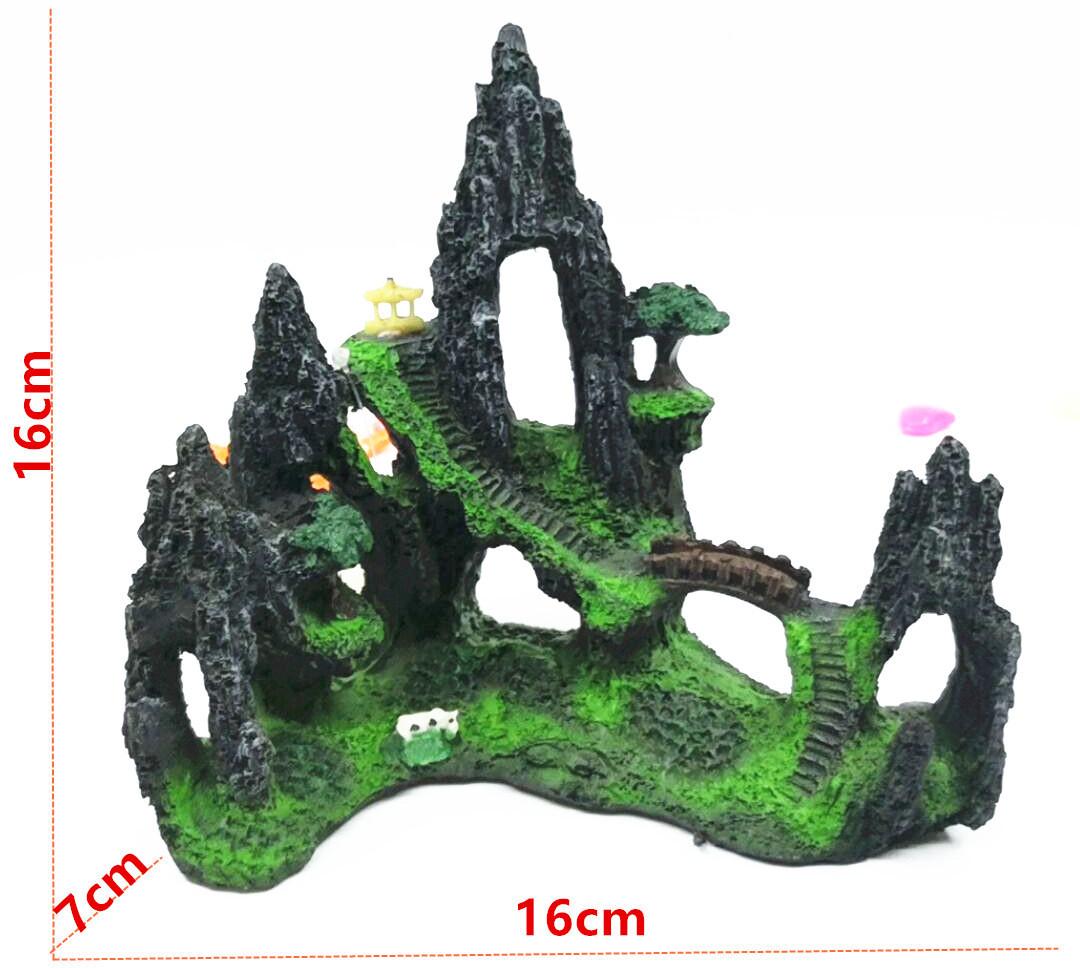 Декор для аквариума Китайский сад #2 замок