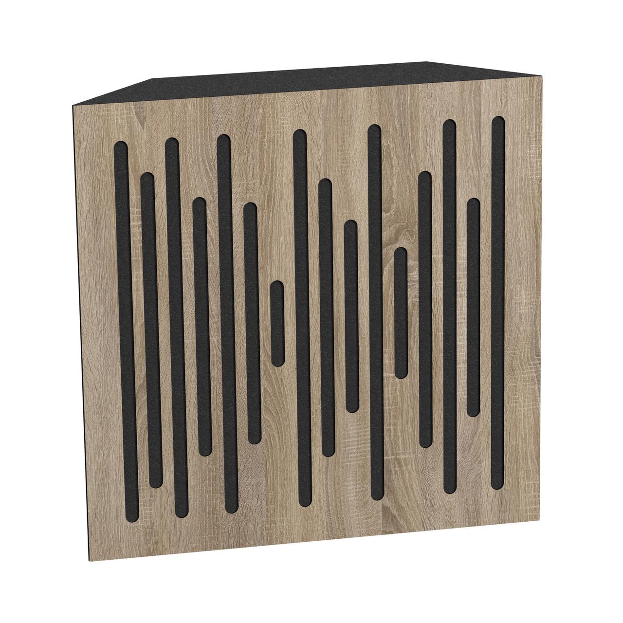 Бас пастка Ecosound Bass trap Ecowave wood 500х500х100 колір сонома