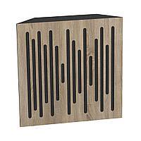 Бас пастка Ecosound Bass trap Ecowave wood 500х500х100 колір сонома, фото 1