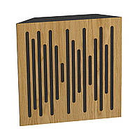 Бас ловушка Ecosound Bass trap Ecowave wood 500х500х100 цвет шервуд, фото 1