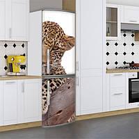 Наклейки на холодильник фотообои на холодильник Самоклейка, 180 х 60 см, Лицевая (holSS1_fa11337 Животные)