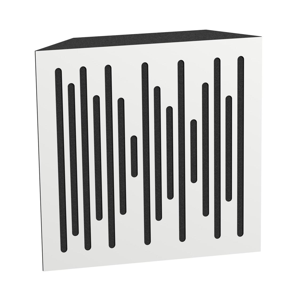 Бас пастка Ecosound Bass trap wood 500х500х150 колір білий