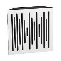 Бас пастка Ecosound Bass trap wood 500х500х150 колір білий, фото 1