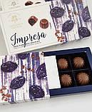 Цукерки IMPRESA в'ялена слива в молочному шоколаді, фото 2