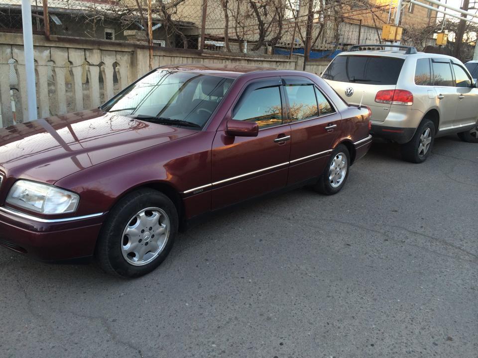 Дефлекторы окон (ветровики) Mercedes Benz C-klasse Sd (W202) 1993-2000