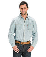 Рубашка джинсовая Levis new age bleach