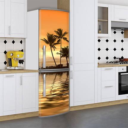 Наклейка на холодильник реставрация старого холодильника Самоклейка, 180 х 60 см, Лицевая (holSS1_mp12449 Море), фото 2