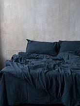 Комплект постельного белья 200x220 LIMASSO DRESS BLUE STANDART синий