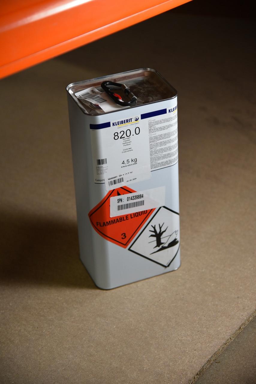 Очиститель  KLEIBERIT 820.0 (канистра 4,5 кг)