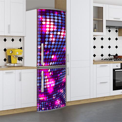 Виниловая наклейка на холодильник, Самоклейка, 180 х 60 см, Лицевая