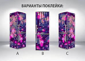 Виниловая наклейка на холодильник, Самоклейка, 180 х 60 см, Лицевая, фото 2