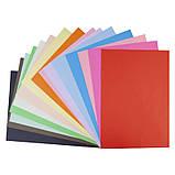 Бумага цветная двусторонняя (15лист/15цвет) А4 Hot Wheels KITE, фото 2