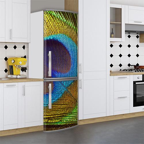 Большие Виниловая наклейка на холодильник, Самоклейка, 180 х 60 см, Лицевая (holSS1_mw10832 Животные)