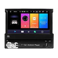 Автомагнитола Pioneer 9601A с выдвижным экраном 1 din Android Wi Fi GPS Android 8.1 Go