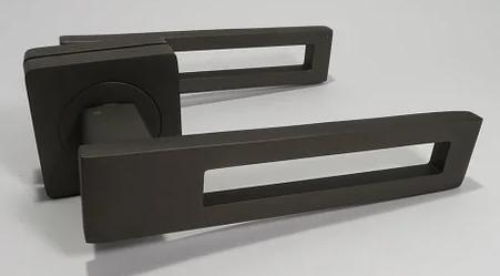 Дверна ручка KEDR R08.084 (колір:графіт)