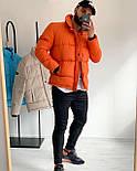 😜 Куртка - Мужскаяя куртка на синтепоне (оранжевая), фото 2