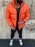 😜 Куртка - Мужскаяя куртка на синтепоне (оранжевая), фото 4