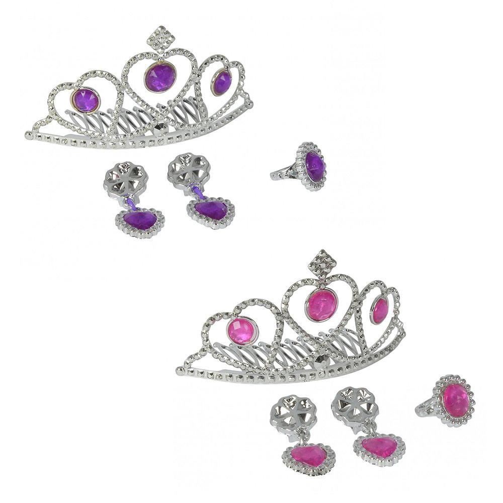 """Набор украшений """"Тиара принцессы"""" с серьгами и кольцом, 2 вида, 5+ (556 0039)"""