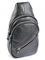 Мужская кожаная сумка 5049 Black. Мужские сумки оптом и в розницу недорого в Украине., фото 1