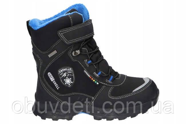 Ботинки зимние  american club для мальчика 32 р-р - 21 см