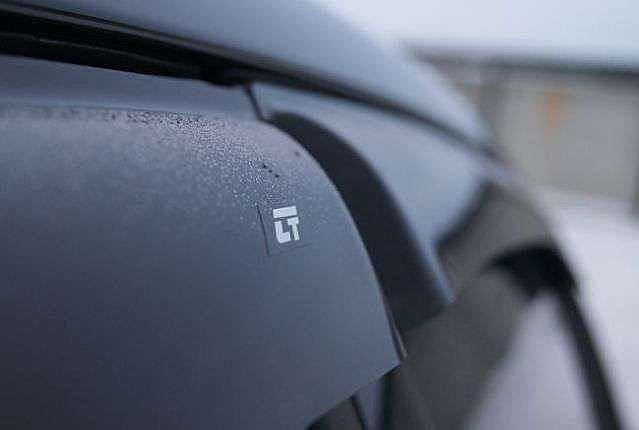"""Дефлекторы окон (ветровики) Renault Megane III Grandtour 2009 """"EuroStandart"""" деф.дв.накл."""