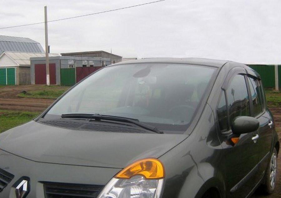 """Дефлекторы окон (ветровики) RENAULT Modus 5d 2004-2008 """"EuroStandart"""""""