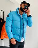 😜 Куртка - Мужскаяя куртка на синтепоне (голубая), фото 3