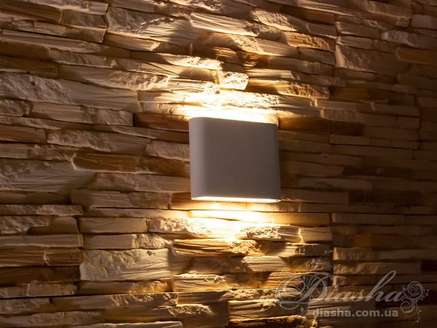 Плоский фасадный LED светильник&DFB-8023WH NW
