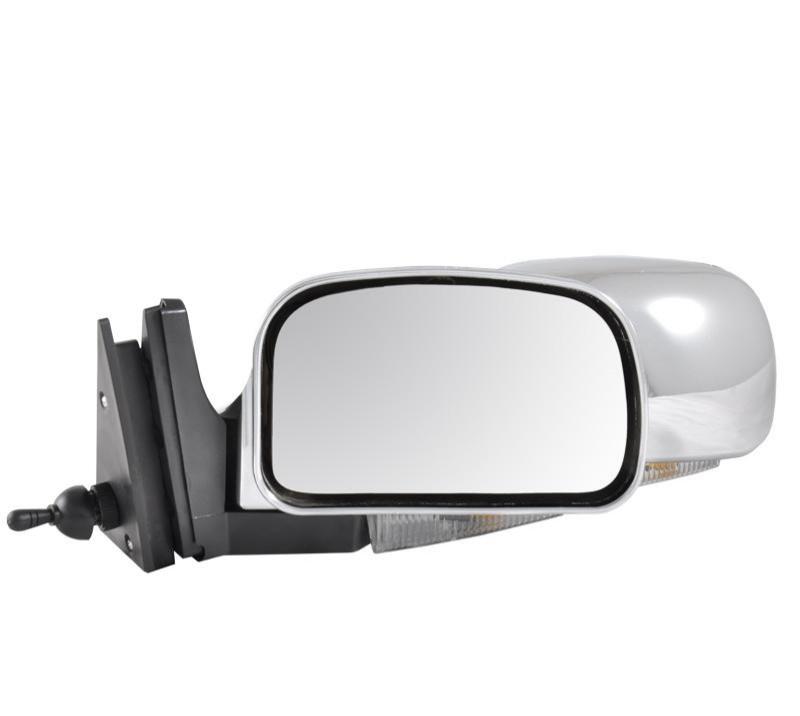 Зеркало ВАЗ 2107/ ВАЗ 2104/ ВАЗ 2105 хром с поворотом Condor K1072 (кт.)