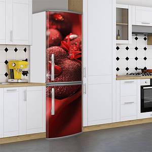Вінілова наклейка на холодильник, день валентина, 180х60 см - Лицьова (В), з ламінуванням
