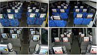 Подголовник рекламный в маршрутку, автобус, фото 1