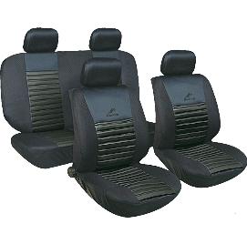 Чехлы авто сидений комплект черные Tango24016/1 Milex Польша