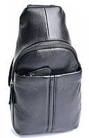 Чоловіча шкіряна сумка 1807 Black. Чоловічі сумки оптом і в роздріб недорого в Україні., фото 1