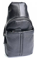 Мужская кожаная сумка 1807 Black. Мужские сумки оптом и в розницу недорого в Украине., фото 1