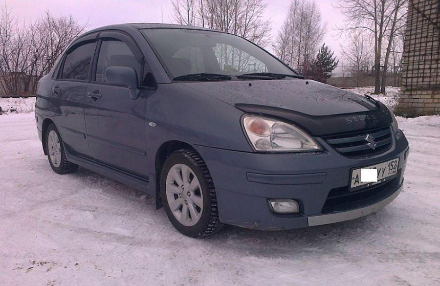 Дефлекторы окон (ветровики) Suzuki Liana Sd 2002-2007
