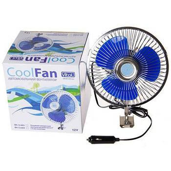 "Автомобильный вентилятор 12V  6""  Vitol (BH.12.604/HF304)"