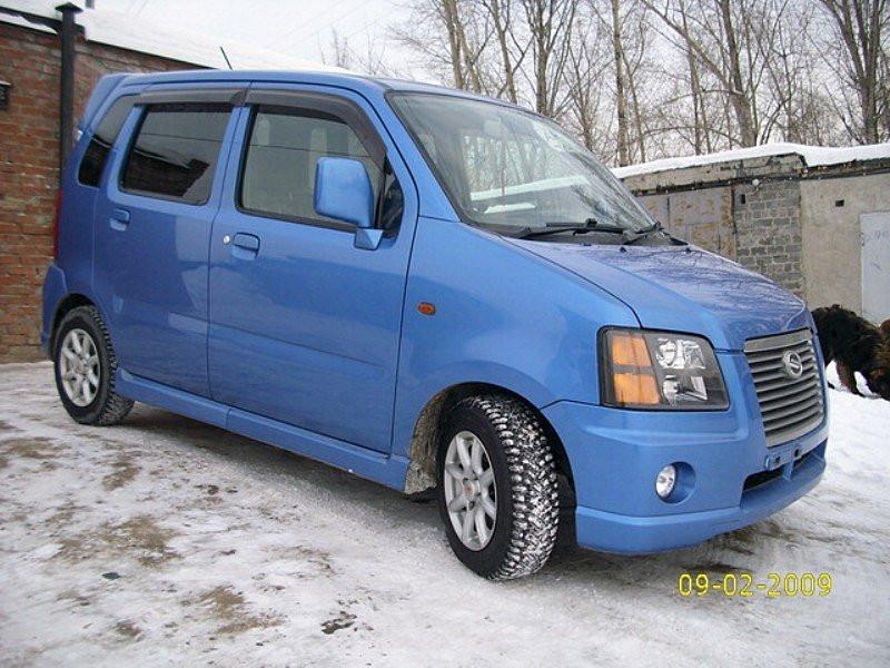 Дефлекторы окон (ветровики) Suzuki Wagon R+ 1997-2006